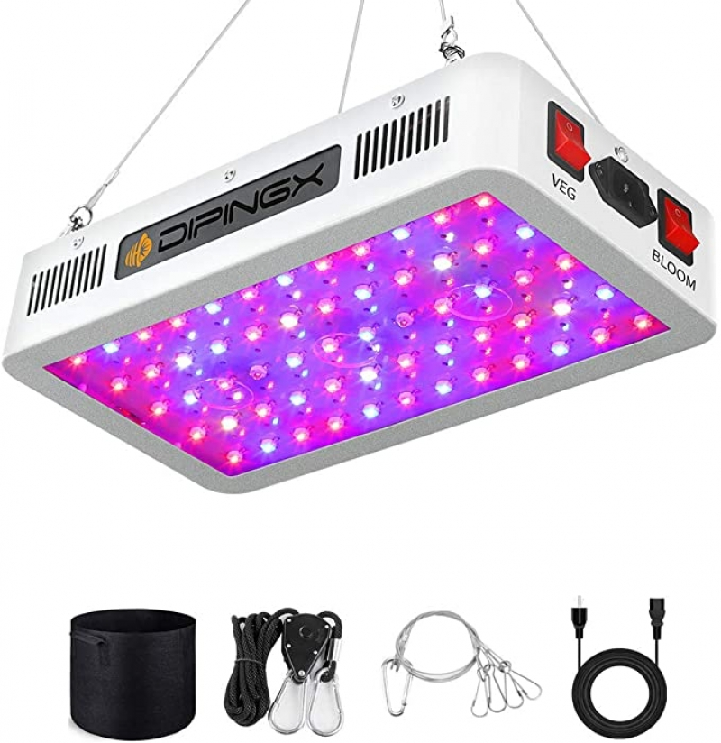 ihocon: DIPINGX Full Spectrum Led Grow Light全光譜植物生長燈