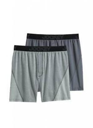 ihocon: Jockey Mens No Bunch Boxer - 2 Pack 男士內褲