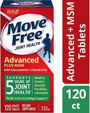 ihocon: Move Free Glucosamine Chondroitin MSM and Hyaluronic Supplement (120 Tablets)維骨力