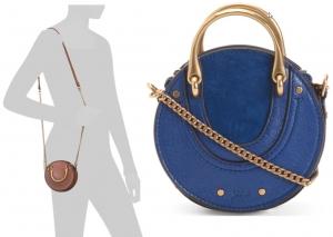 ihocon: CHLOE Made In Italy Pixie Mini Leather Crossbody 意大利製包包- 2色可選
