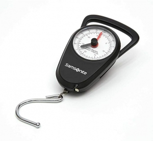 ihocon: Samsonite Manual Scale, Black 行李秤