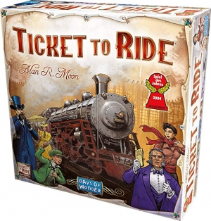 [新低價] 桌遊- Days of Wonder Ticket to Ride $19.98(原價$49.99)