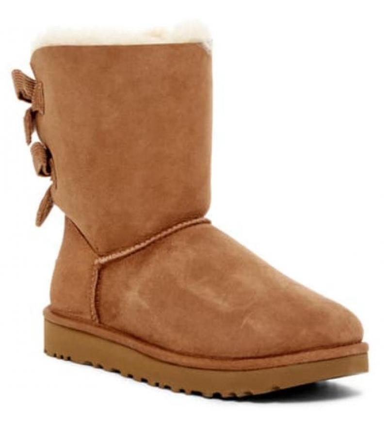 ihocon: UGG Bailey Twinface Genuine Shearling &  Bow Corduroy Boot 女靴