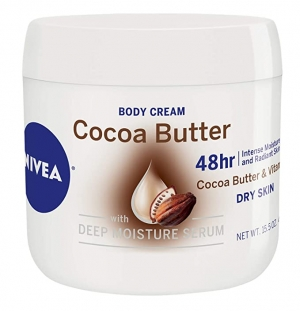 ihocon: NIVEA Cocoa Butter Body Cream - 48 Hour Moisture For Dry Skin, 15.5 oz. 潤膚霜