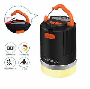 ihocon: Siivton Rechargeable LED Camping Lantern充電式營燈