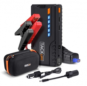 ihocon: TACKLIFE T6 600A Peak 16500mAh SuperSafe Car Jump Starter with Quick Charge 3.0m汽車啟動行動電源