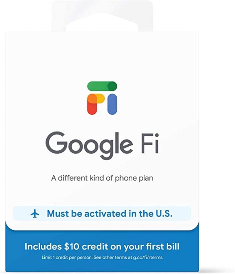 ihocon: Google Fi SIM Card Kit