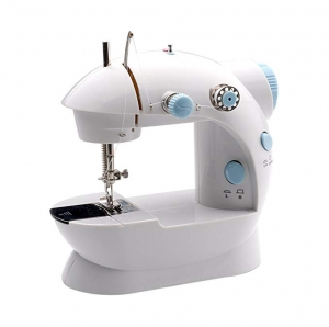 ihocon: MICHLEY LSS-202 Lil' Sew & Sew Mini 2-Speed Sewing Machine, White 迷你雙速縫紉機