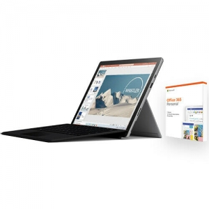 Microsoft Surface Pro 7 12.3 (i5, 8GB, 128GB SSD) + Surface Type Cover + 1年Office 365 $779.99(原價$804.94)