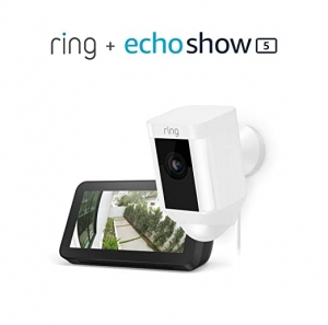 ihocon: Ring Spotlight Cam Wired with Echo Show 5