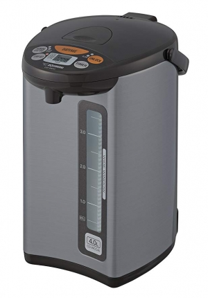 ihocon: Zojirushi CD-WCC40 Micom Water Boiler & Warmer, Silver電熱水瓶