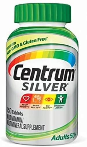 ihocon: Centrum Silver Adult 150 Count (Pack of 1) Multivitamin, Age 50+  銀寶善存
