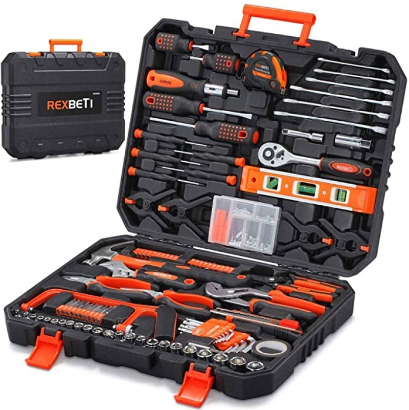 ihocon: REXBETI 217-Piece Tool Kit 家庭常用工具組