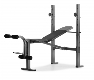 ihocon: Weider XR 6.1 Multi-Position Weight Bench with Leg Developer and Exercise Chart   健身舉重椅