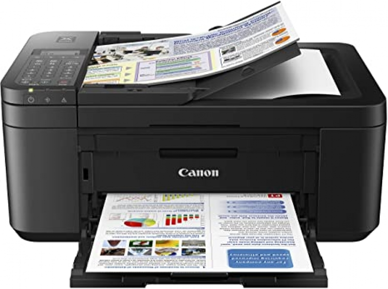 ihocon: Canon PIXMA TR4520 Wireless All in One Photo Printer with Mobile Printing, Black, Works with Alexa 無線多功能印表機 (Print / copy / Scan / Fax)
