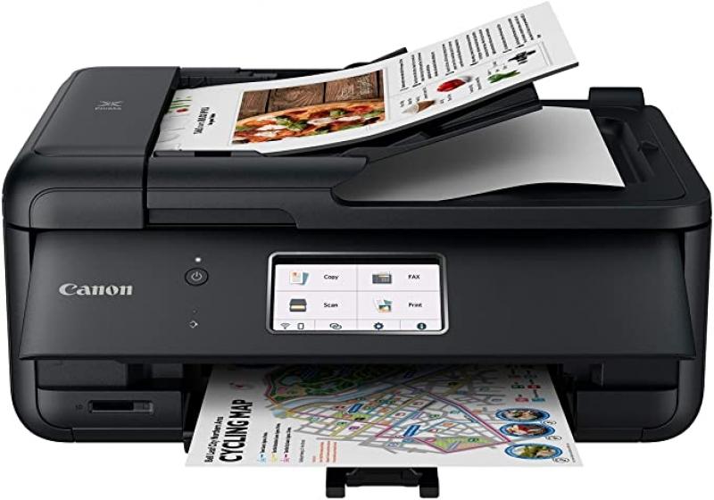 ihocon: Canon TR8620 All-In-One Printer, Airprint (Print/Copy/Scan/Fax)多功能印表機