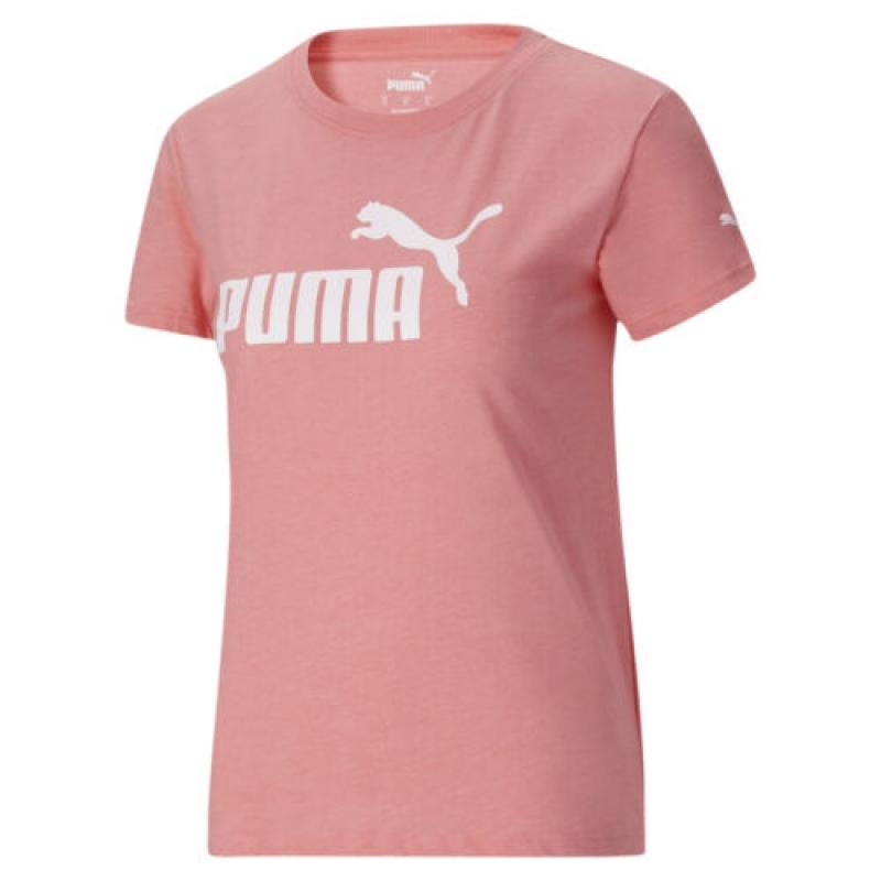 ihocon: PUMA Women's Essentials+ Logo Heather Tee女士短袖衫-多色可選