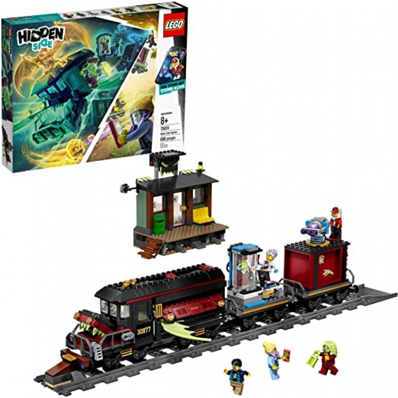 ihocon: 樂高LEGO Hidden Side Ghost Train Express 70424 Building Kit (698 Pieces)幽靈特快列車