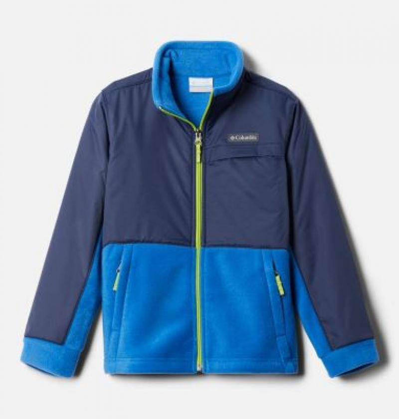 ihocon: Columbia Boys' Steens Mountain™ Overlay Fleece Jacket 男童外套-多色可選