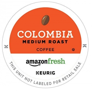 ihocon: AmazonFresh 12 Ct. K-Cups, Colombia Medium Roast, Keurig K-Cup Brewer Compatible  12咖啡膠囊