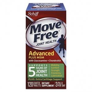 ihocon: [關節保養] Move Free Advanced Plus MSM, 120 tablets