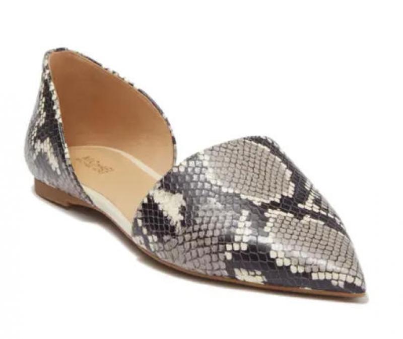 ihocon: MICHAEL Michael Kors Mila Snake Embossed d'Orsay Flat 女鞋