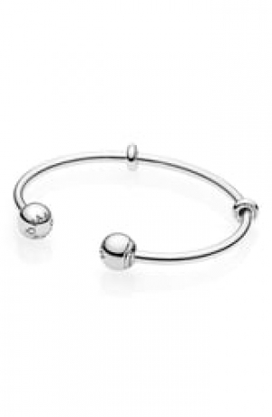 ihocon: PANDORA Open Charm Bangle 潘朶拉手鍊
