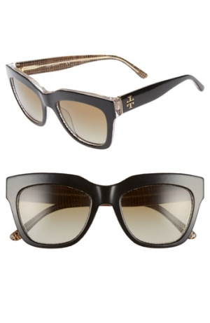 ihocon: TORY BURCH 53mm Gradient Square Sunglasses  太陽眼鏡