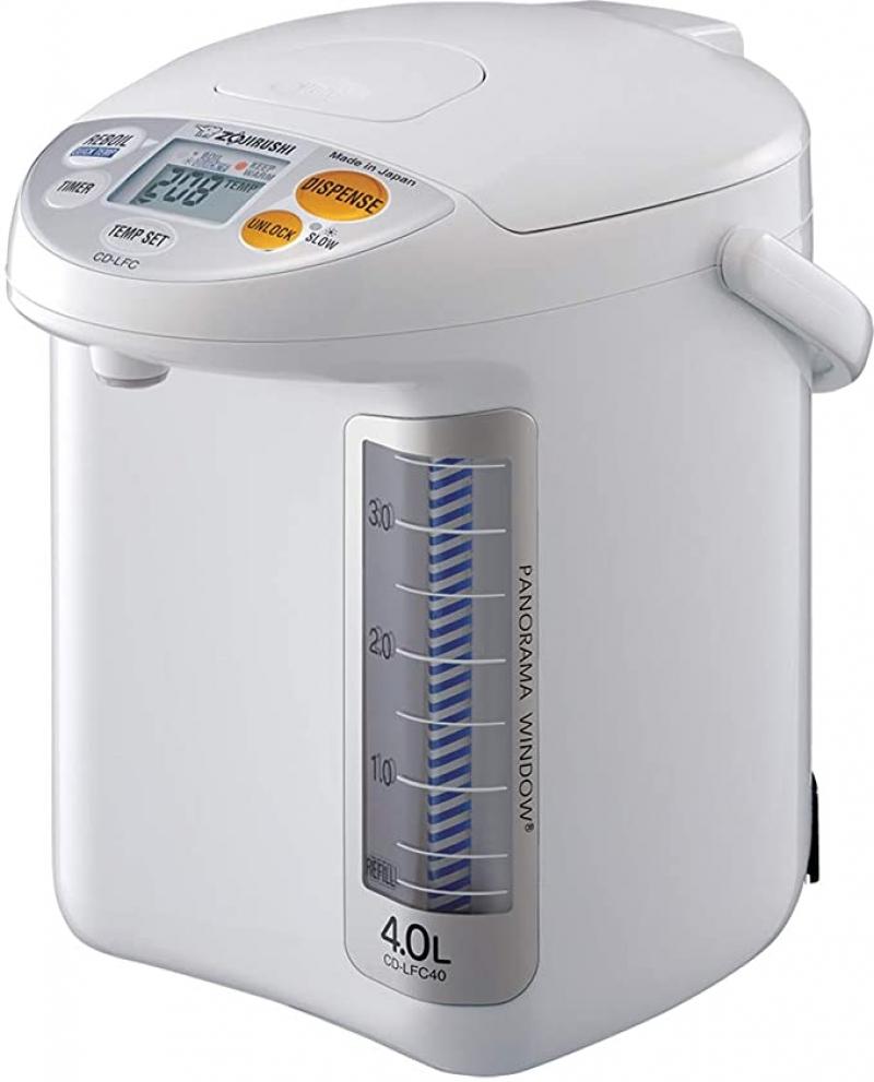 ihocon: Zojirushi CD-LFC40 Panorama Window Micom Water Boiler and Warmer, 135 oz/4.0 L象印電熱水瓶