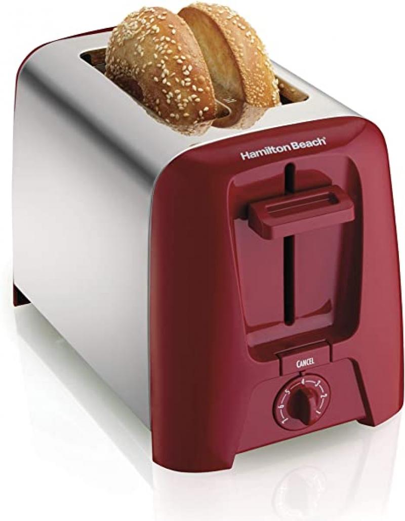 ihocon: Hamilton Beach 2 Slice Extra Wide Slot Toaster 寬槽烤麵包機