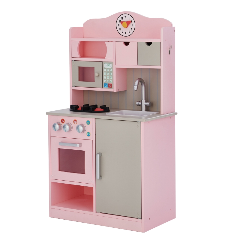 ihocon: Teamson Kids Little Chef Florence Classic Play Kitchen 兒童遊戲廚房