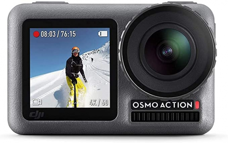 ihocon: DJI Osmo Dual Screen 12.0 MP 4K Ultra HDR Waterproof Action Camera 雙螢幕運動相機