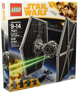 ihocon: LEGO Star Wars Imperial TIE Fighter 75211 (519 Piece)