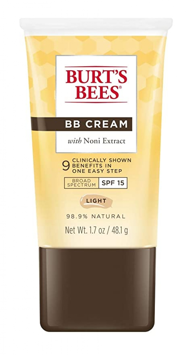 ihocon: Burt's Bees BB Cream with SPF 15, Light, 1.7 Oz