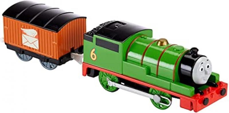 ihocon: Thomas & Friends Trackmaster, Percy 電動火車(使用電池)