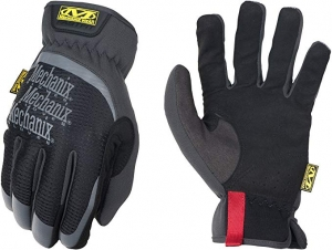 ihocon: Mechanix Wear MFF-05-010 FastFit Work Gloves (Large, Black) 工作手套
