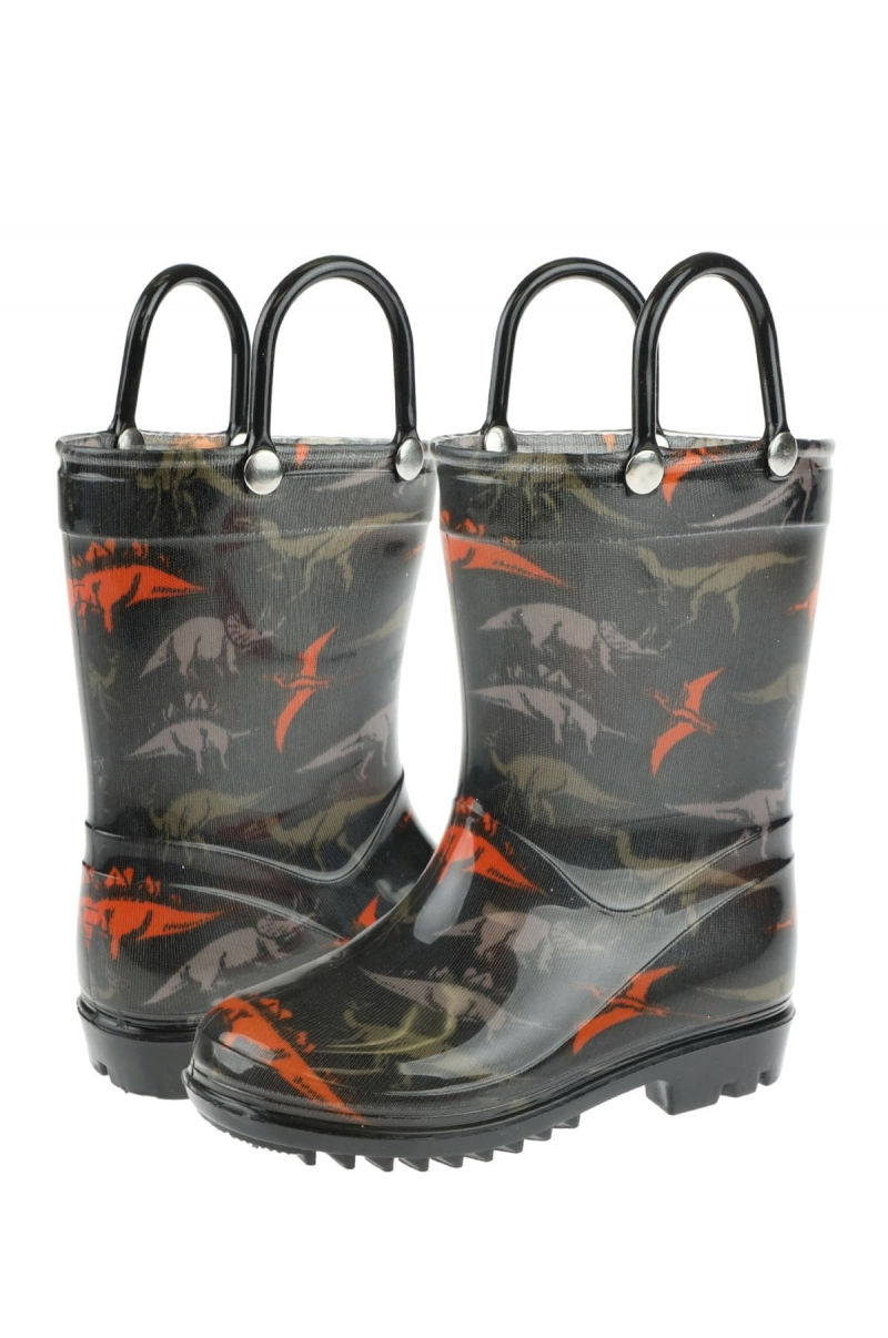 ihocon: CAPELLI OF NEW YORK Dinosaur Print Rainboot 兒童雨靴