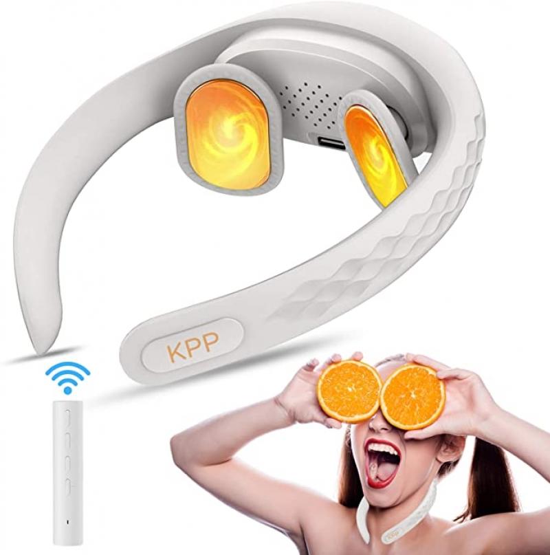 ihocon: KPP Intelligent Portable Neck Massager with Heat 頸部加熱電動按摩器