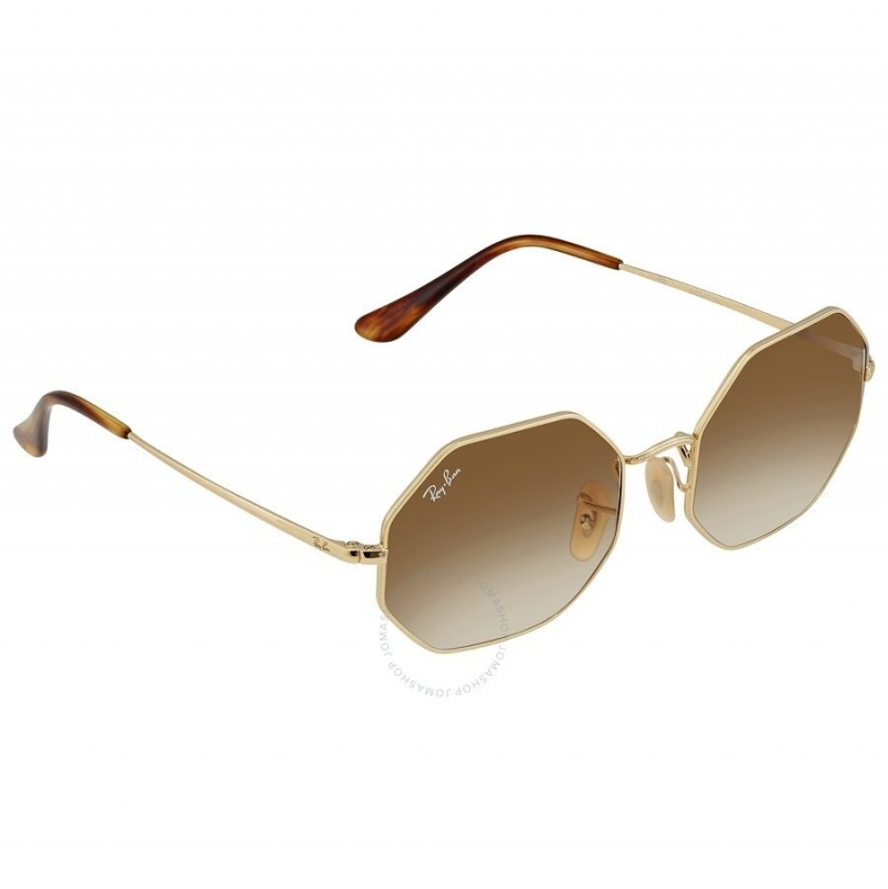 ihocon: [男, 女均適用] Ray Ban Unisex Dark Grey Octagonal Sunglasses八角形太陽眼鏡