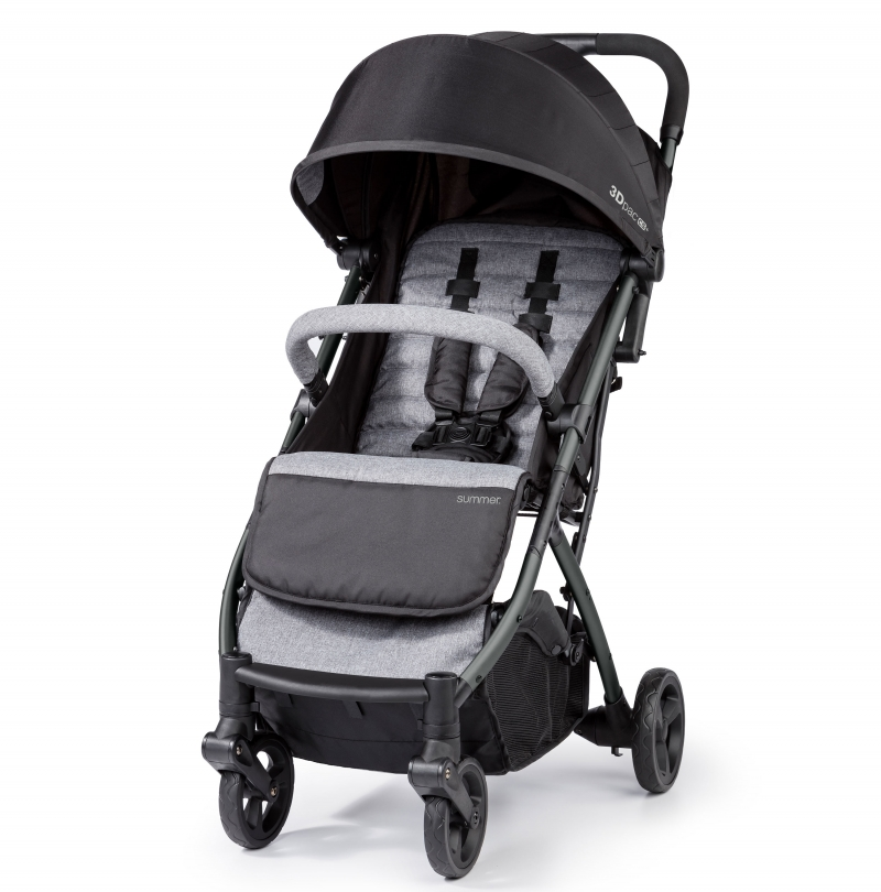 ihocon: Summer 3Dpac CS+ Compact Fold Lightweight Stroller With Reclining Seat & Extra-Large Canopy 嬰兒推車
