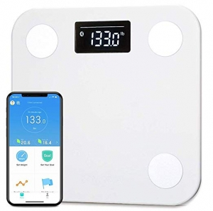 ihocon: YUNMAI Smart Body Fat Scale with Free APP Body Composition BMI Monitor Analyzer with Large Display智能體脂體重秤
