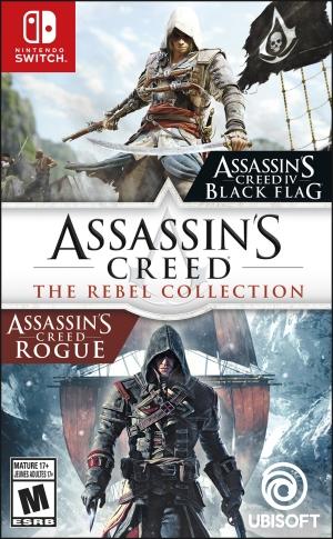ihocon: Assassin's Creed: The Rebel Collection, Ubisoft, Nintendo Switch, 887256097677 刺客信條:反叛系列,育碧, ,887256097677