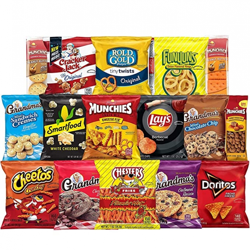 ihocon: Frito-Lay Ultimate Snack Care Package, 40 Count綜合點心
