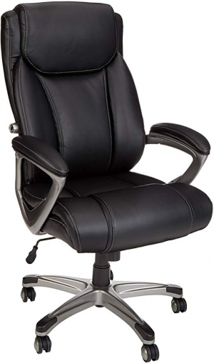ihocon: AmazonBasics Big & Tall Executive Office Desk Chair 辦公椅/電腦椅