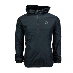 ihocon: Reebok Men's Pullover Dobby Jacket 男士套頭夾克