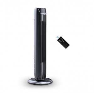 ihocon: PELONIS FZ10-19JR Fan, 36 Inch Compact Black, Glossy  電風扇