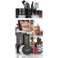 ihocon: SUNFICON Rotating Makeup Organizer 旋轉化妝化妝品收納架