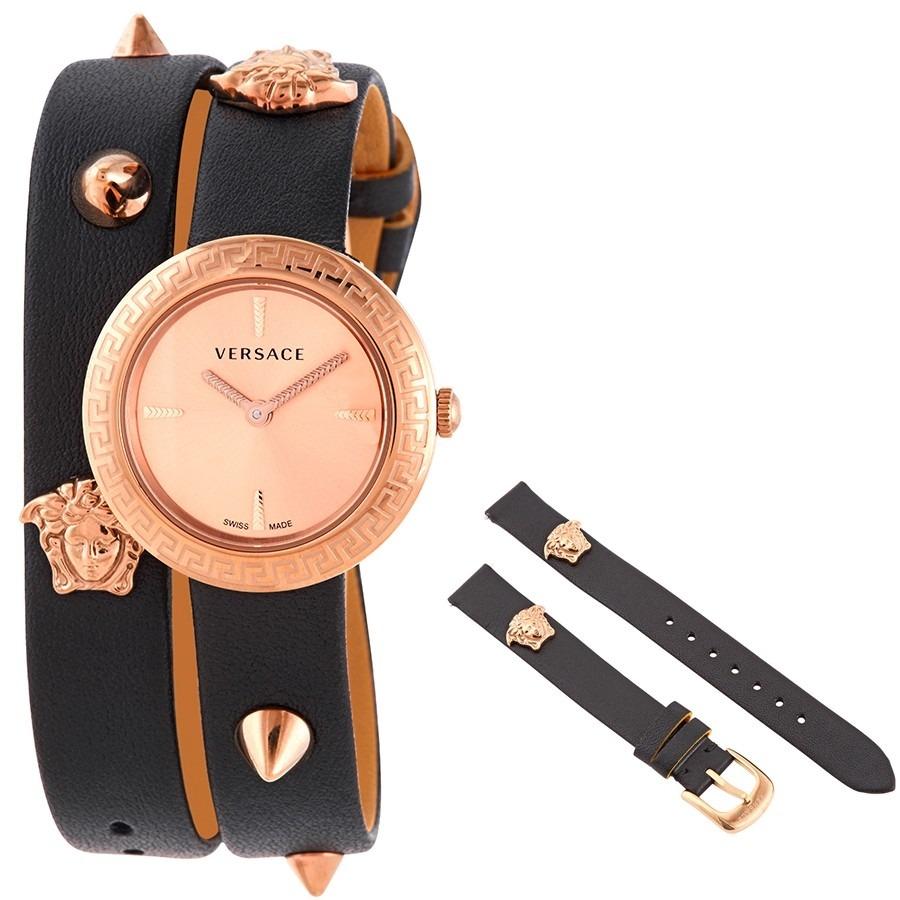 Versace 凡賽斯(范思哲) 鉚釘玫瑰金女錶 $299(原價$1,395)