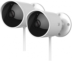 ihocon: YI Outdoor Security Camera 2pc, 1080P 2.4G Wi-Fi IP Waterproof Night Vision Surveillance System 居家安全室外夜視監視鏡頭