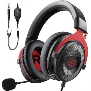 ihocon: Eksa E900 Over-Ear 3.5mm Wired Stereo Gaming Xbox one Headset立體聲遊戲耳機(有線)